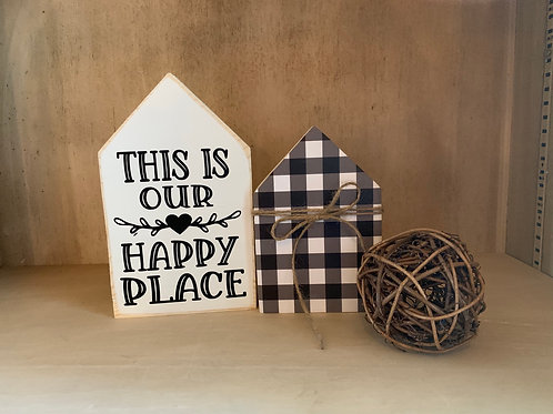 This is our Happy Place - House Set