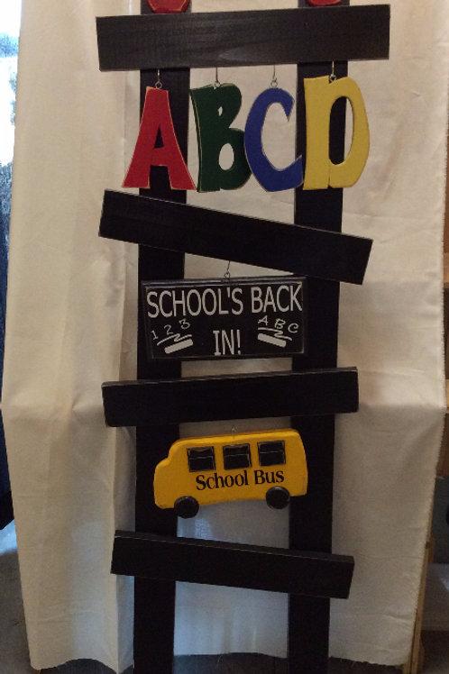 Back to School Porch Ladder set
