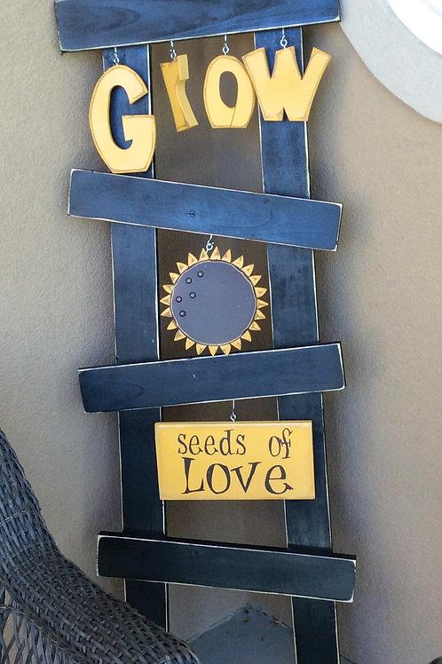 Sunflower Ladder Set