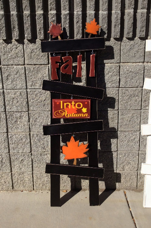 Fall Porch Ladder set
