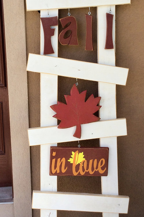 Fall In Love Porch ladder set