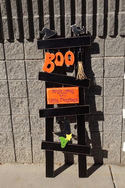 BOO! Porch Ladder set
