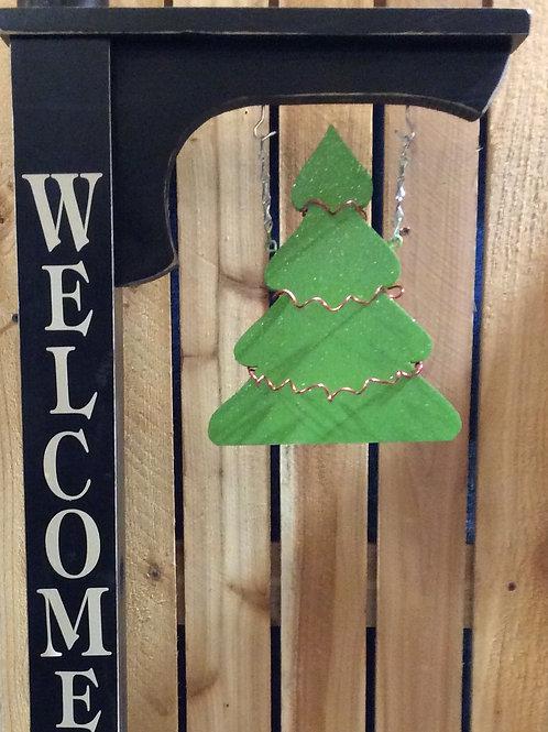 Christmas Post Hanger