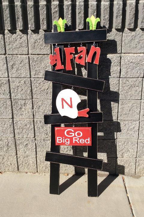 Go Big Red Porch Ladder set