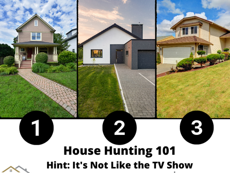 House Hunting 101: It's Not Like the TV Show!