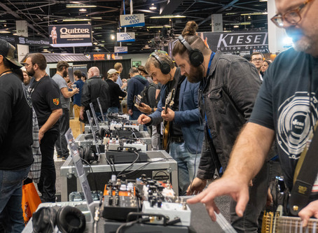 National Association of Music Merchants (NAMM 2020) Day 1
