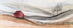 Pueblos Blancos III 180 x 70 cm 2017