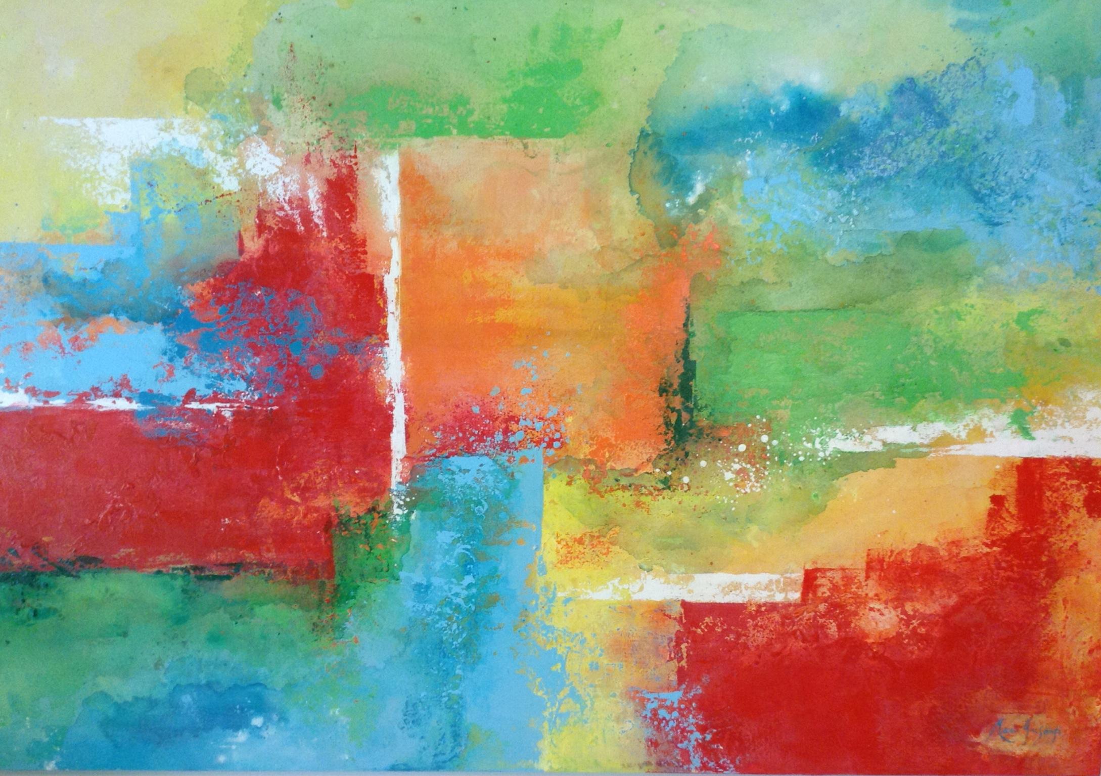Abstracto 3 120 x 140 cm 2013