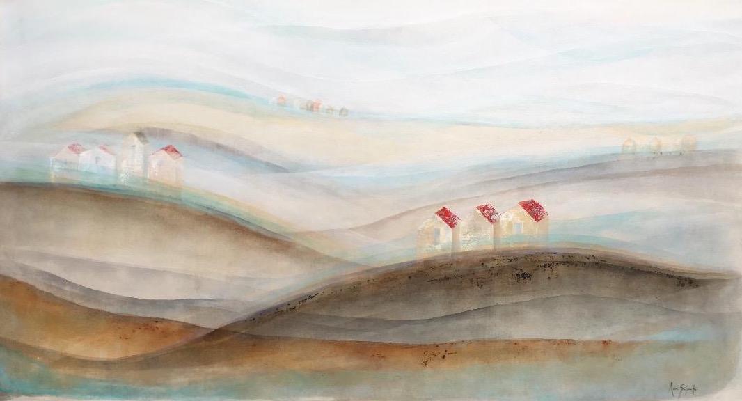 Pueblos Blancos II 200 x 100 cm 2017
