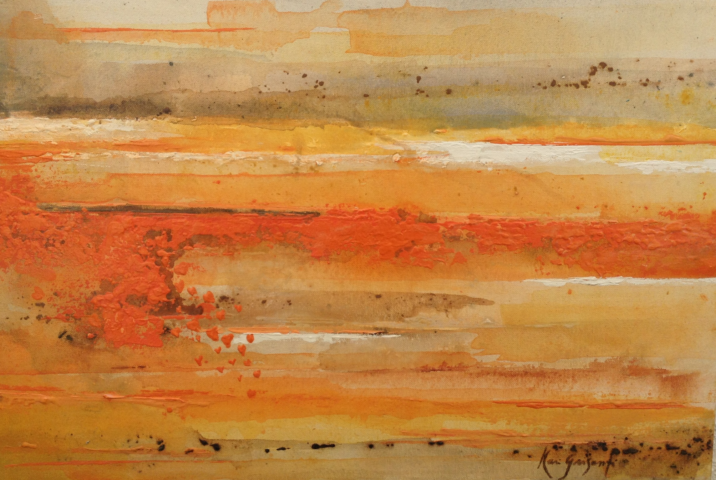 Abstracto 4 30 x 40 cm 2014