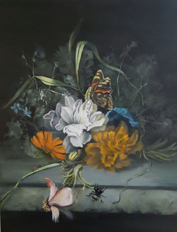 Still Life-Vase of Flowers