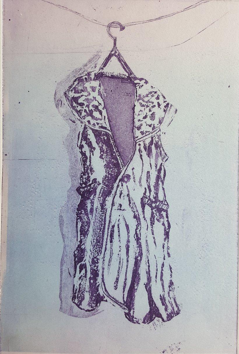 Soft Pink/Blue Dress