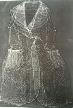 My Dress Emboss $150 unframed