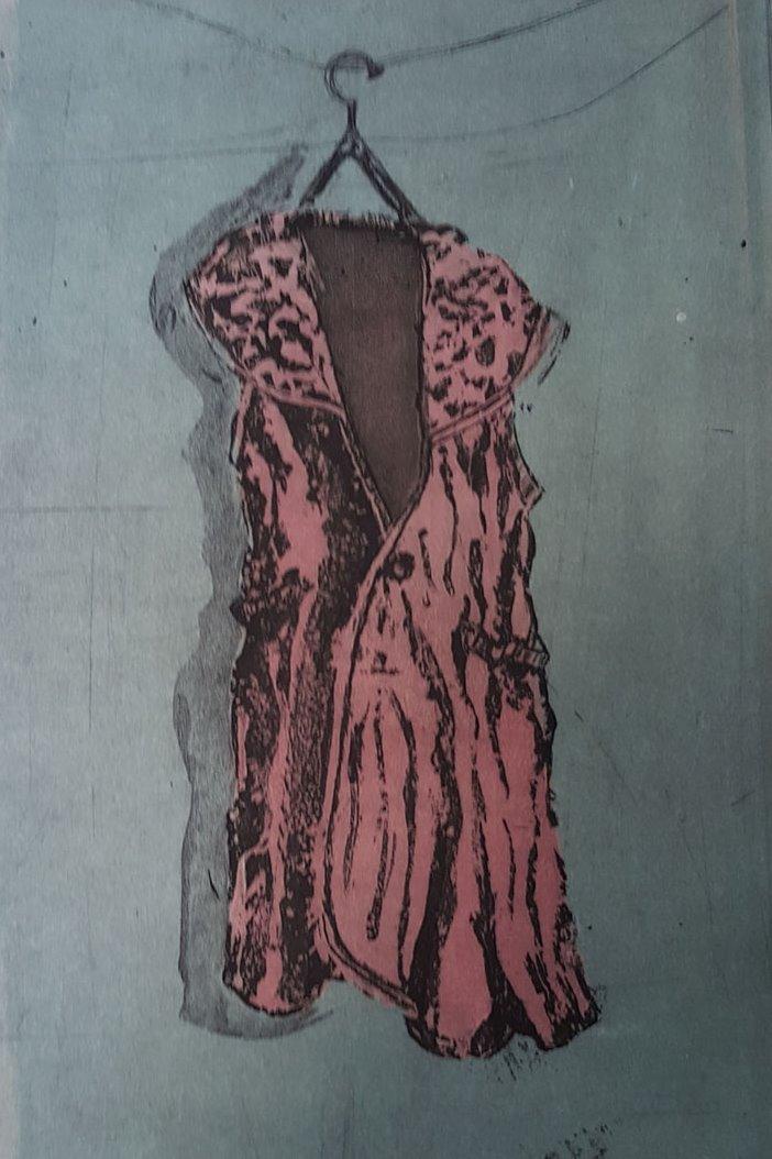 2 Tone Ink Dress