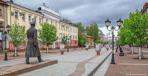 Бульвар Гагарина. Автор фото Павел Стрел