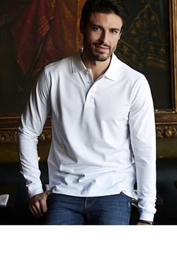 POLO HOMME MANCHES LONGUES LUXURY