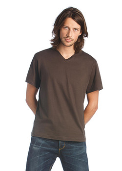 tee shirt homme col v mick classic publicitaire