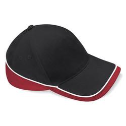 BLACK & WHITE & CLASSIC RED