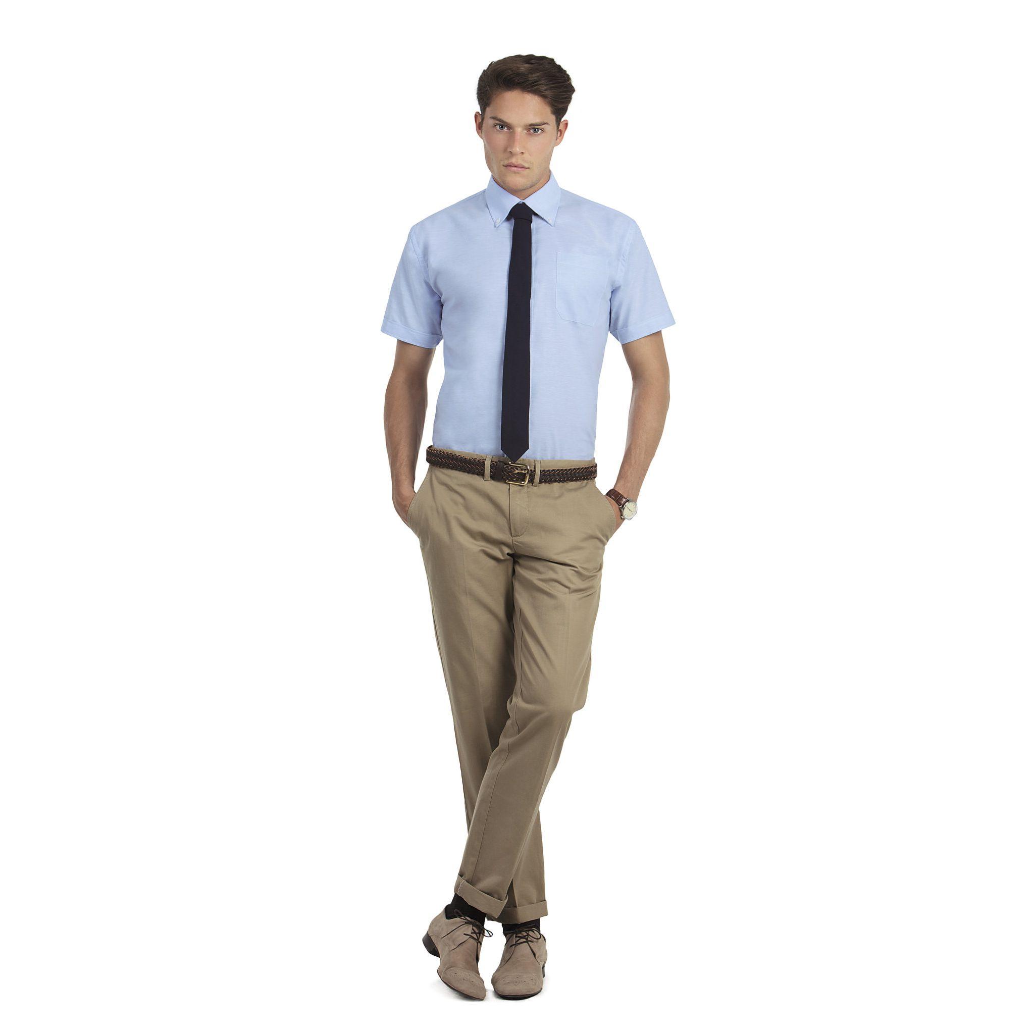 oxford-short-sleeves-men-chemisette-oxford-homme