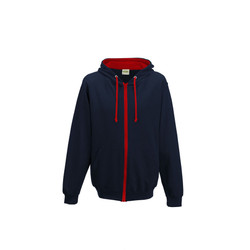 FRENCH NAVY-FIRE RED