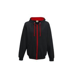 JET BLACK-FIRE RED