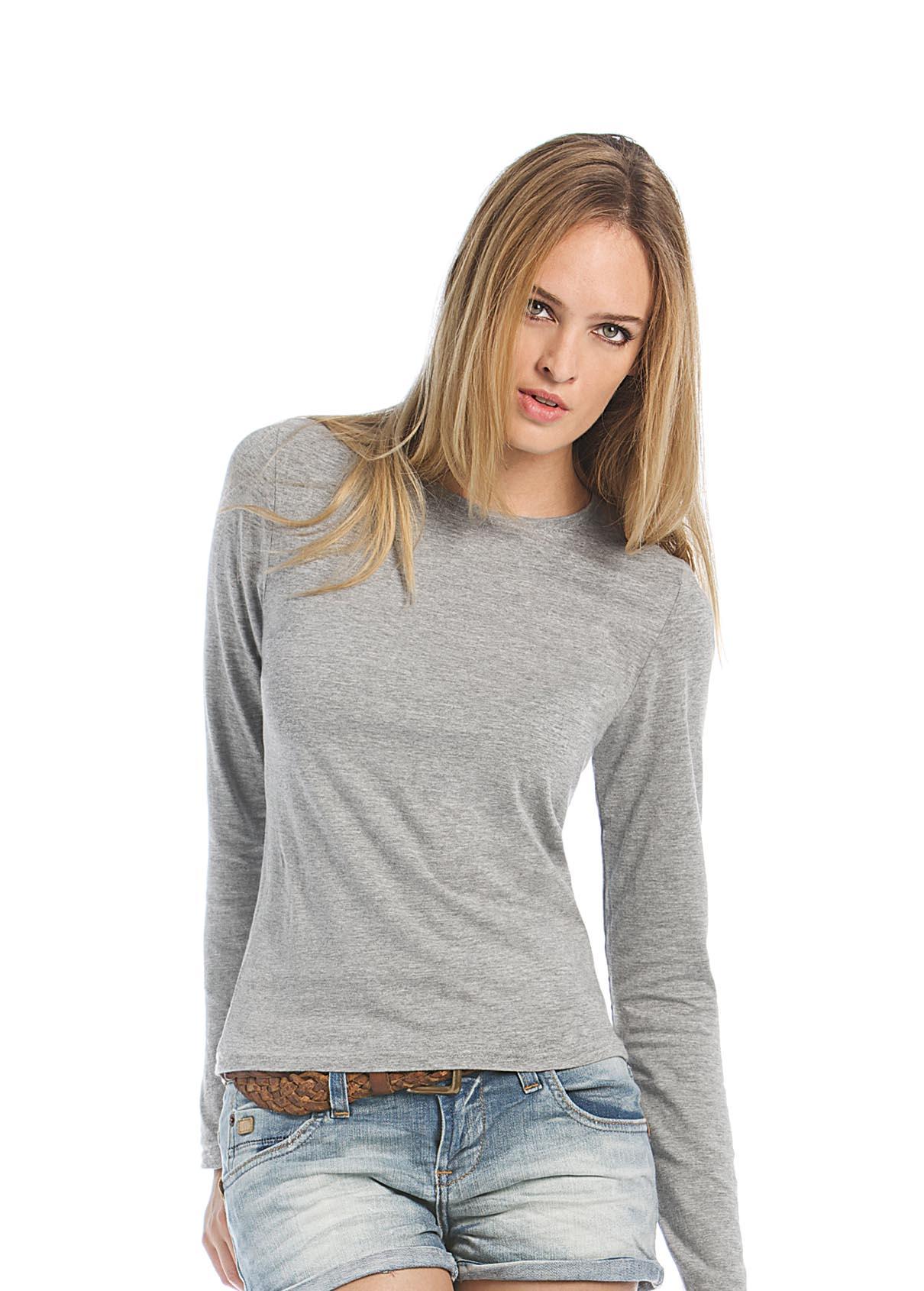 tee_shirt_femme_manches_longues_150gr_à_personnaliser