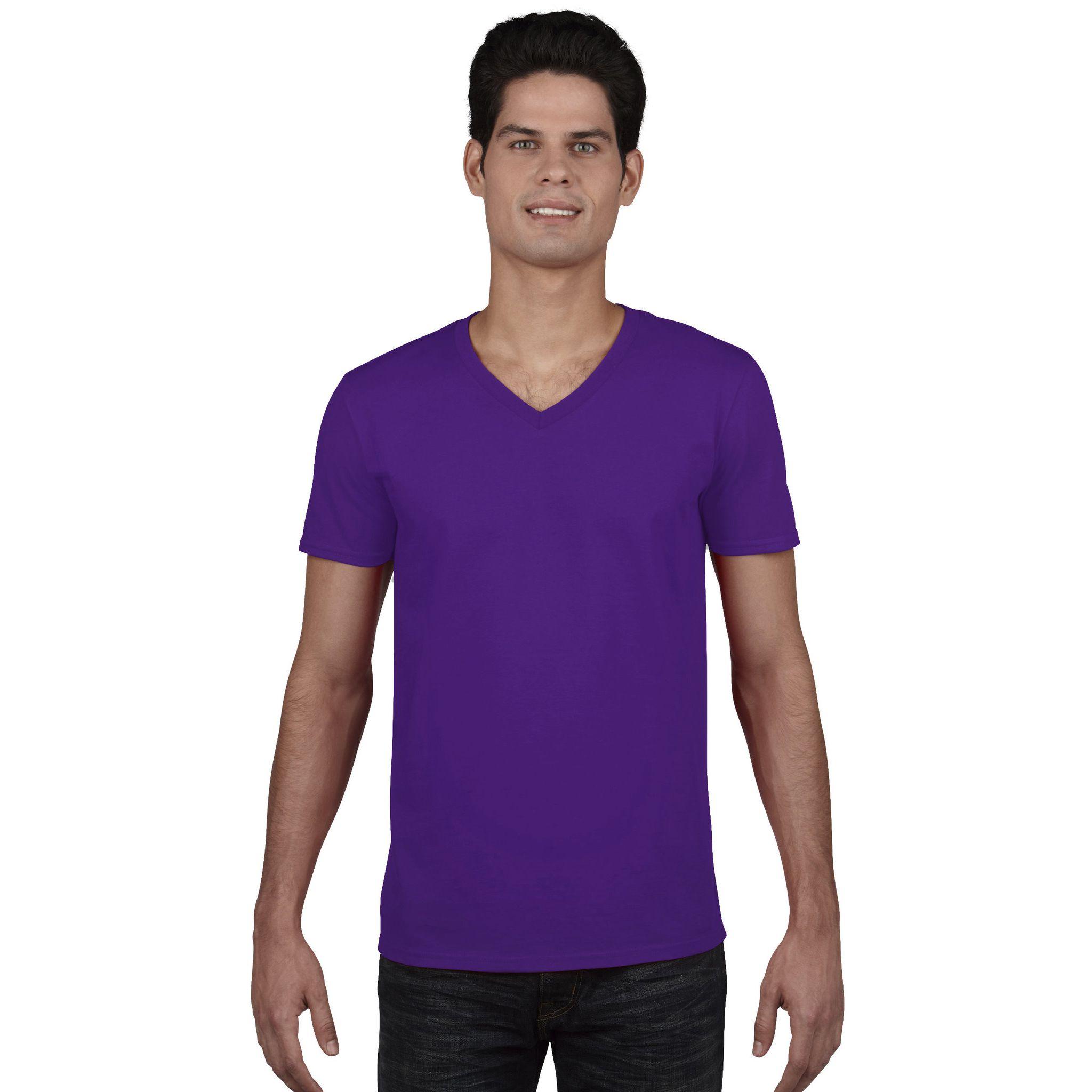 adult-v-neck-t-shirt-tee-shirt-col-v-homme