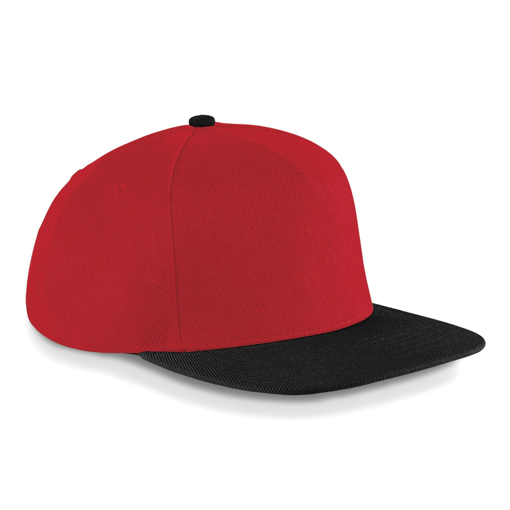 BLACK & CLASSIC RED