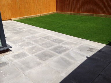 Artificial Grass and Paving