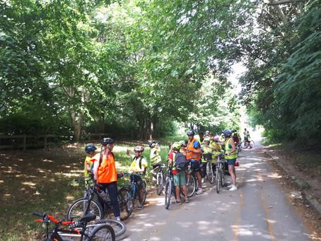 Journée vélo et visite du musée de la Résistance