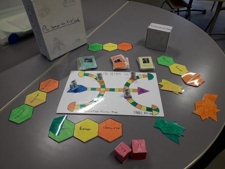 Création de jeu en partenariat avec la ludothèque