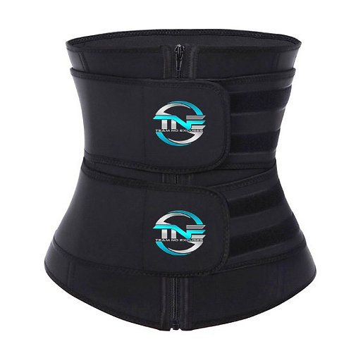 Full Coverage Latex Double Strap Waist Trainer