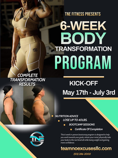 6 Week May Bootcamp Registration Fee Only