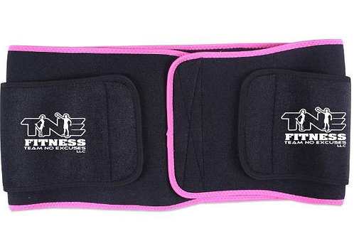 Red/Black Neoprene Waist Trainer