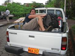 Galapagos...ran out of car seats