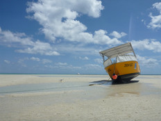 Low tide, Lizard Island