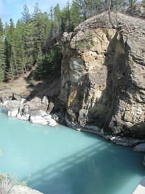 Chilko River canyon