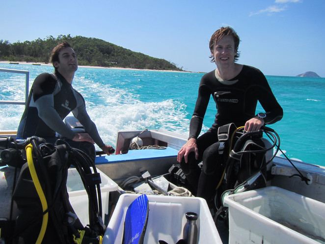 Lizard Island, with Fredrik Jutfelt