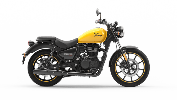 Royal Enfield Meteor 350 Fireball Yellow (On The Road Price £3749)