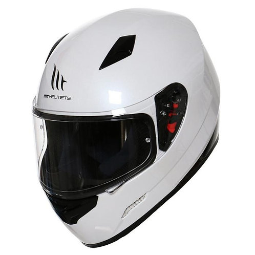 MT Mugello Gloss White XL