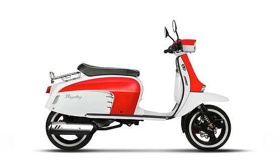 Royal Alloy GT 125 AC Red & White