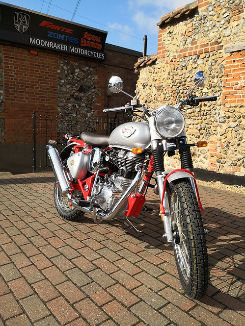 Royal Enfield Trials 500 Red