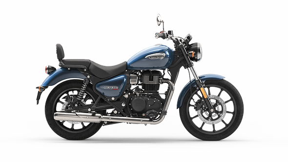 Royal Enfield Meteor 350 Stellar Blue (On The Road Price £3879)
