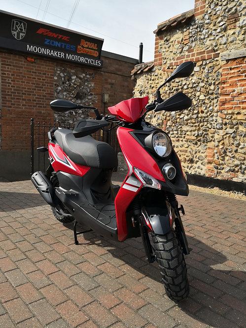 Sym Crox 125cc On The Road Price