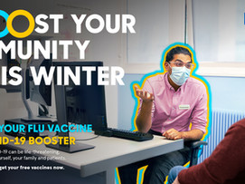 FLU CLINICS ARE NOW IN PROGRESS FOR 2021-22.