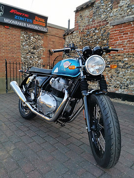 Royal Enfield Interceptor 650 Ventura Blue - Euro 5