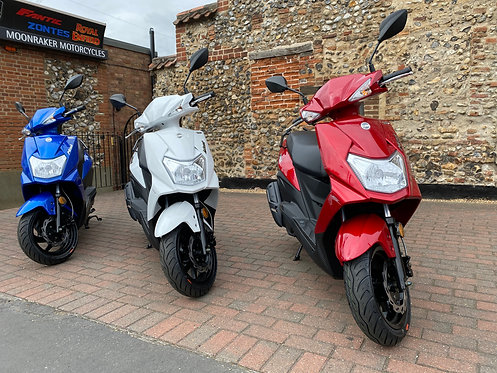 Sym Mask 50cc New & Just £1849 On The Road Price!
