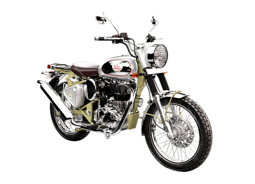 Royal Enfield Trials 500 Green. Free Local delivery & UK Delivery at low cost