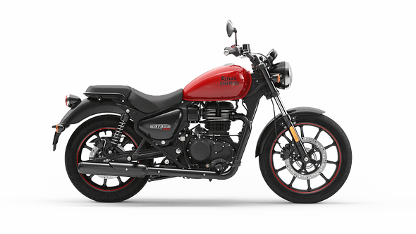 Royal Enfield Meteor 350 Fireball Red (On The Road Price £3749)