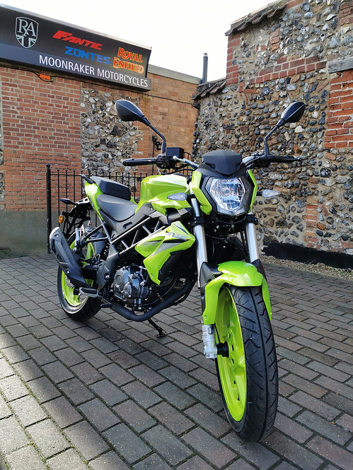 Benelli BN 125cc Euro 5 On The Road